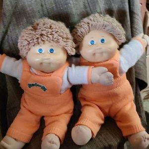 2 Cabbage Patch Dolls Kids (boy )